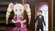 Beatrice, Pack and Subaru - Re Zero Anime BD - 2