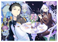 Re Zero Arc 4 Manga Key Visual