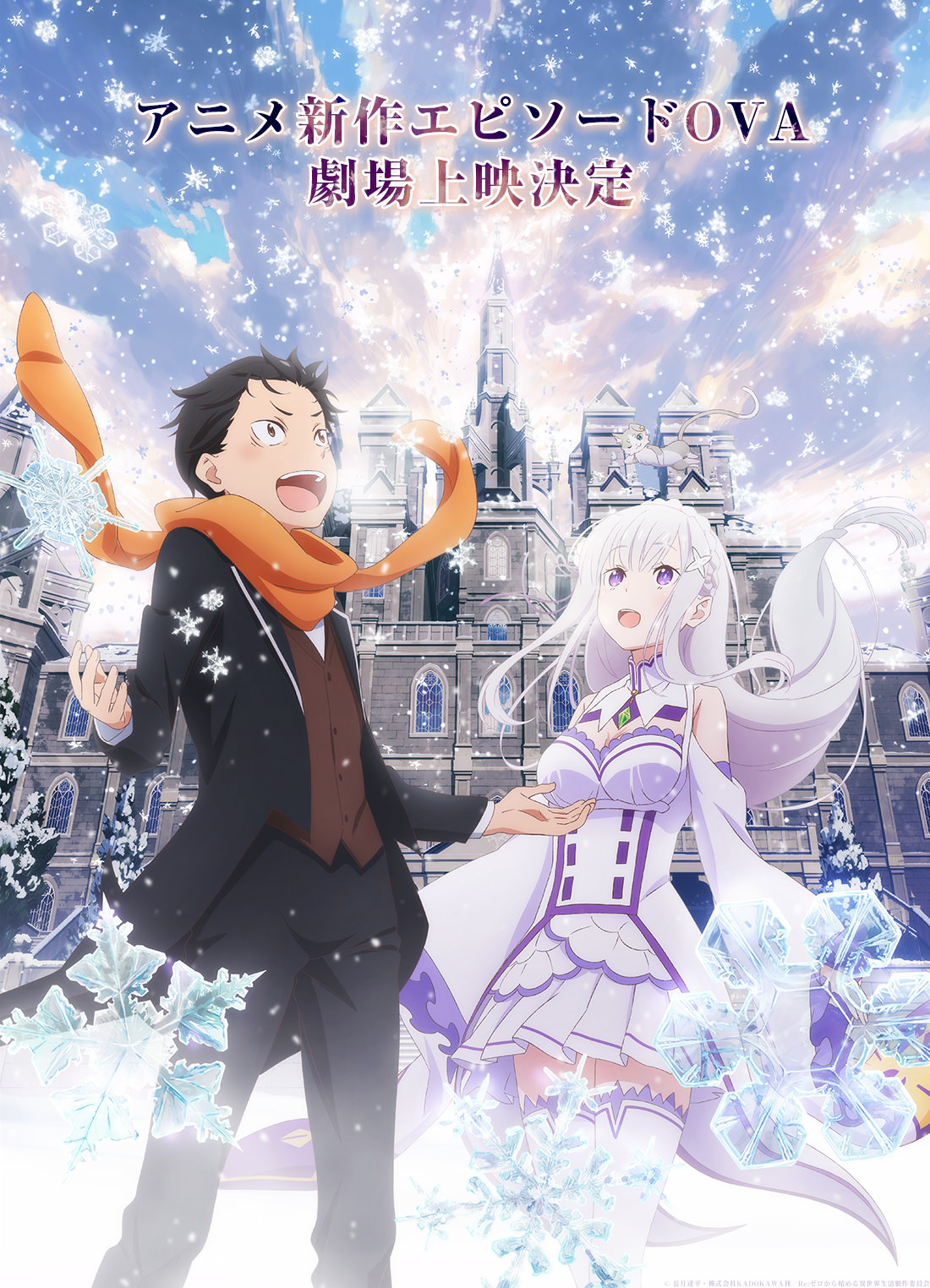 Re:Zero kara Hajimeru Isekai Seikatsu - Memory Snow / Hồi sinh thuật OVA : Kí ức ngày tuyết rơi