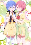 Re Zero Animedia Poster 1