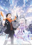 Re Zero OVA Key Visual
