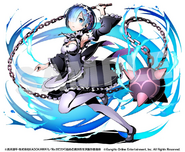 Divine Gate x Re Zero Collaboration Artwork - Rem