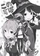 KonoSuba x Re Zero Crossover Illustration 1