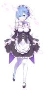 Rem Character Art LN 5