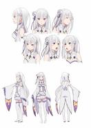 Re Zero - Emilia Diseño