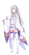 Emilia LN Character Art