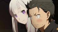 Subaru and Emilia - Re Zero Anime BD - 3