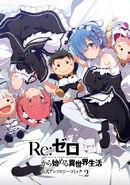 Re Zero Anthology Manga Volume 2 Cover Art