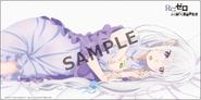 Re Zero - Emilia acostada Sample