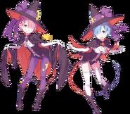Halloween Oni Sisters