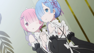 Ram and Rem - Re Zero Anime BD - 2