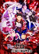 Re Zero kara Hajimeru Isekai Seikatsu Anime Portada