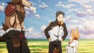 Subaru, Ricardo, and Mimi - Re Zero Anime