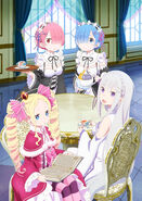 Re Zero The Heroines Tea Party