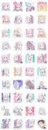 Re Zero - Emilia Stickers