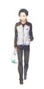 Natsuki Subaru Character Art