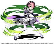 Divine Gate x Re Zero Collaboration Artwork - Ram