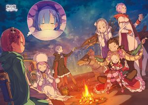 Re Zero Light Novel 21 1