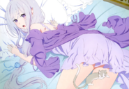 Emilia y Pack - Wallpaper 2