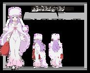Anastasia Anime Character Art