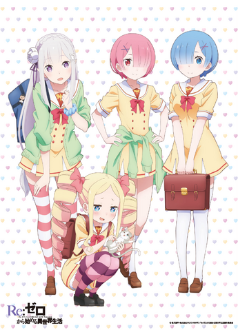 File:Re Zero School Uniform Poster.png