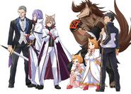 Daisanshou Volume 8 Characters