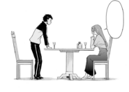 Crusch and Subaru - Daisanshou Manga