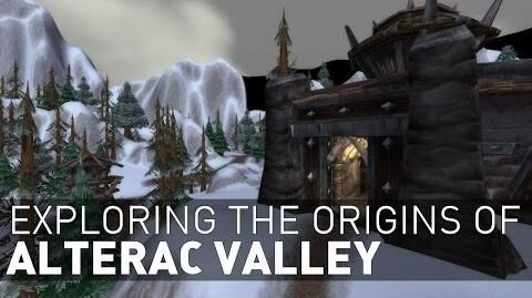 Exploring the Origins of Alterac Valley