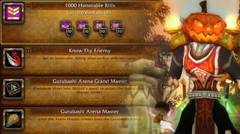 Bugování Honor Killů a Honorů