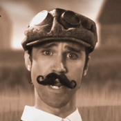 Link as Orville Wright