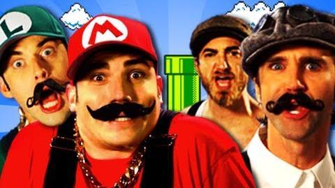 Mario Bros vs Wright Bros. Epic Rap Battles of History Season 2
