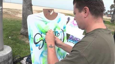 I'm On Vacation BTS Airbrushed T-Shirts