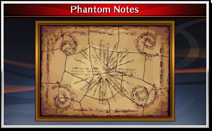 Finished Phantom Notes