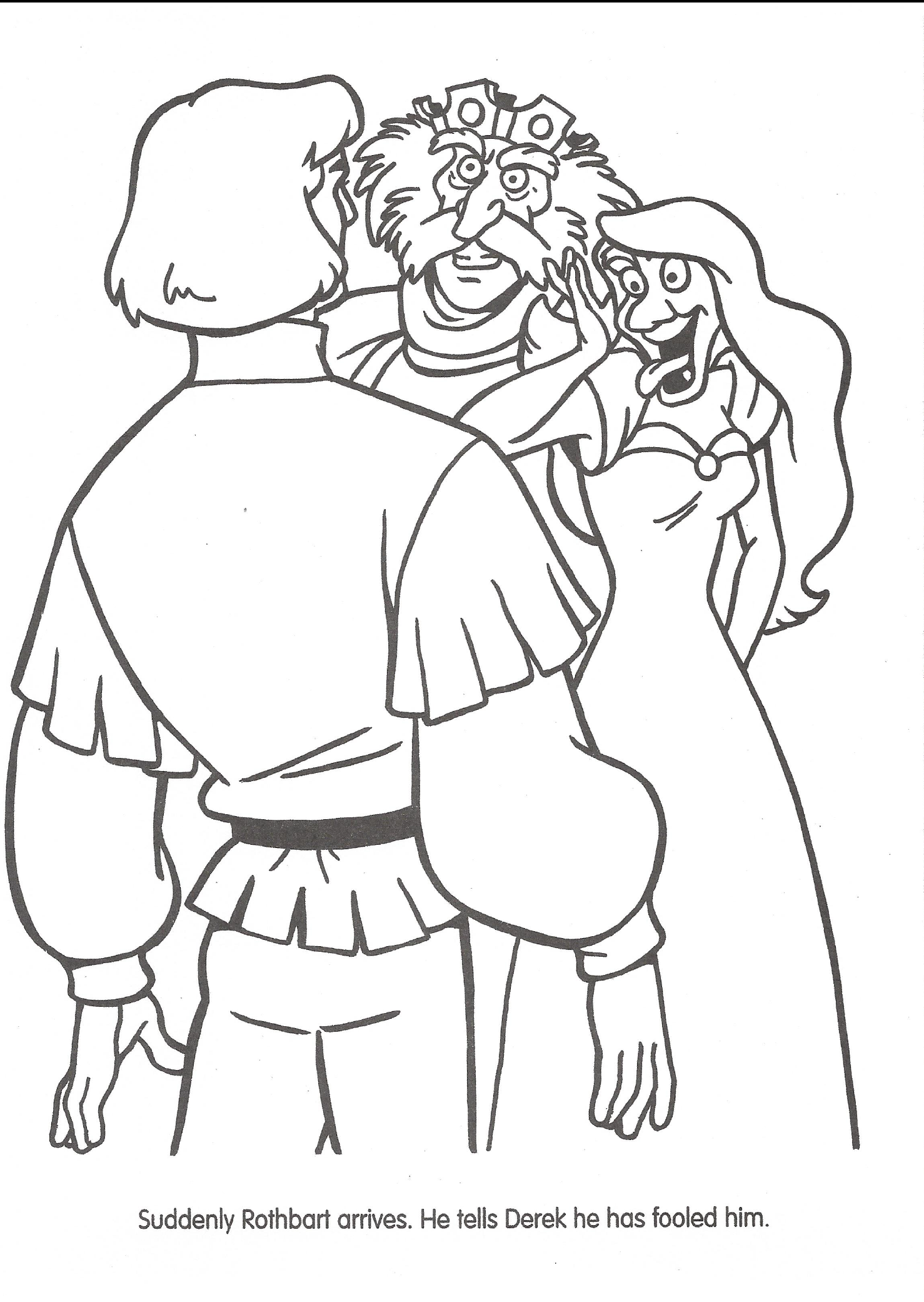 swan princess coloring pages Coloring Page