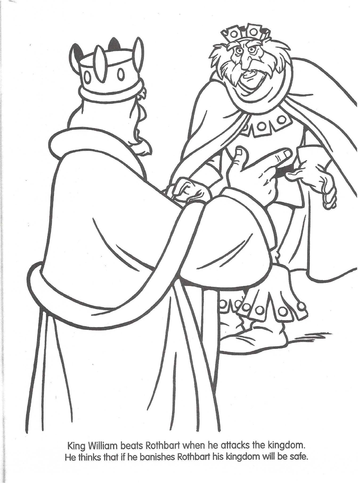 Swan Princess Official Coloring Page 6