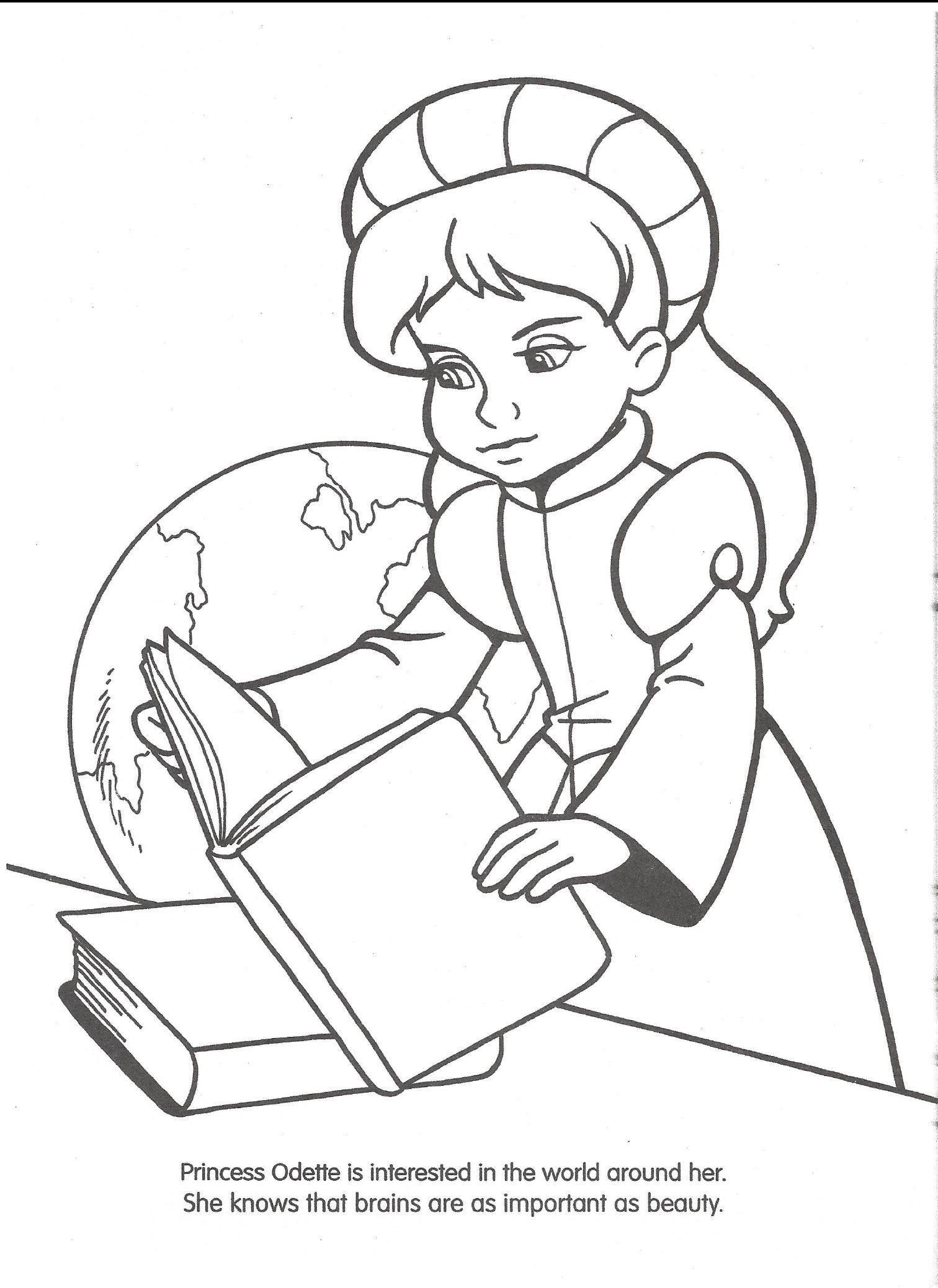 Swan princess coloring pages coloring page Coloring book wiki