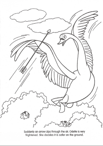 FileSwan Princess Official Coloring Page 26