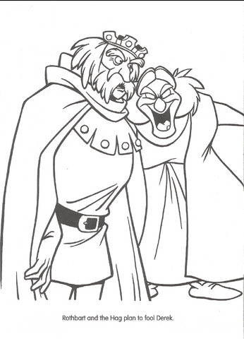 FileSwan Princess Official Coloring Page 39