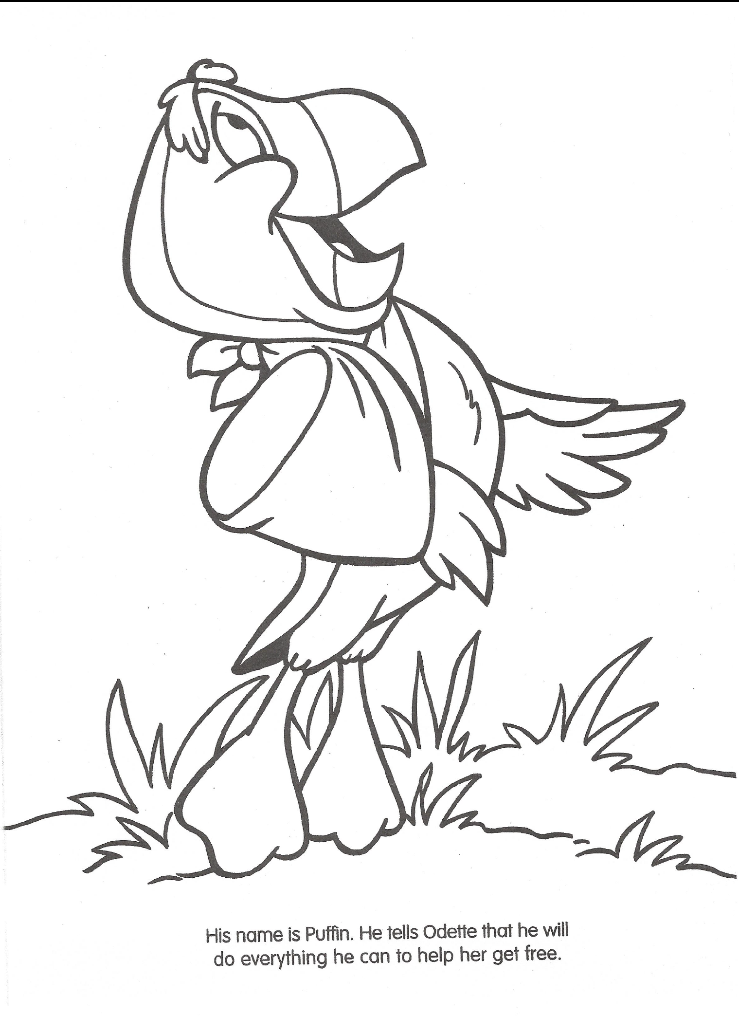 Swan Princess Official Coloring Page 16