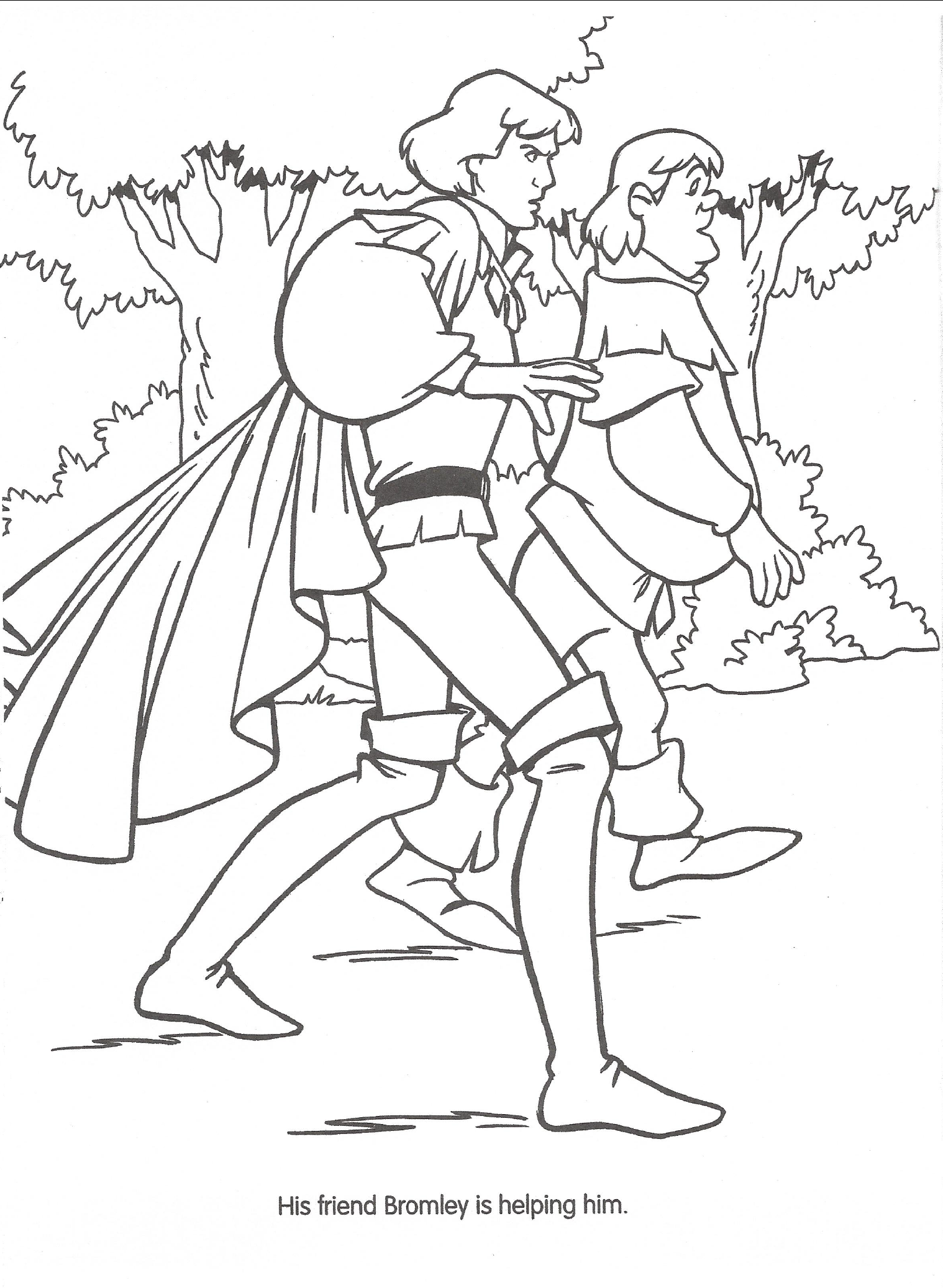 Image Swan Princess official coloring page 25png Richard Rich