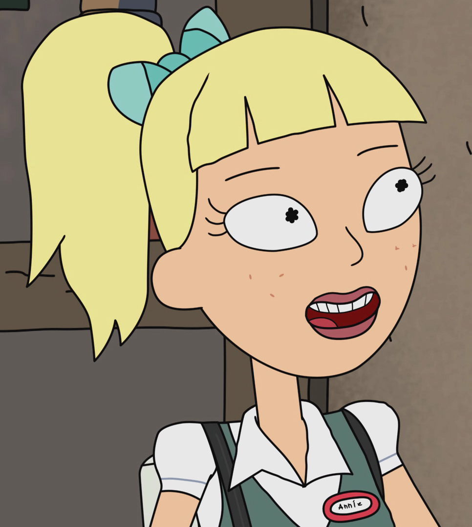Annie | Rick and Morty Wiki | FANDOM powered by Wikia