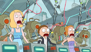 S2e10 beth summer morty dna