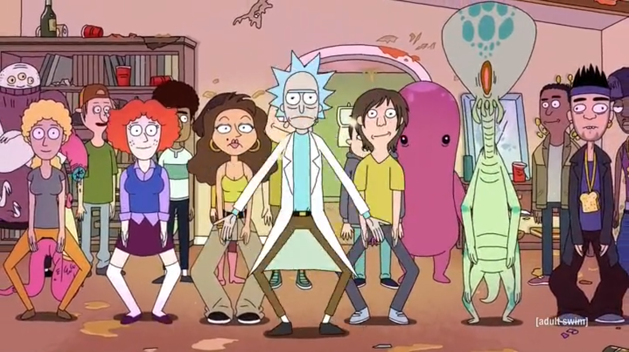 The Rick Dance | Rick and Morty Wiki | FANDOM powered by Wikia