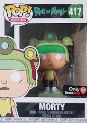Funko-Pop-Rick-and-Morty-417-Morty-with-Helmet-GameStop-Blips-and-Chitz-Mystery-Box-Exclusive