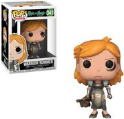 Funko-Pop-Rick-and-Morty-341-Warrior-Summer
