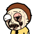 Infected Morty