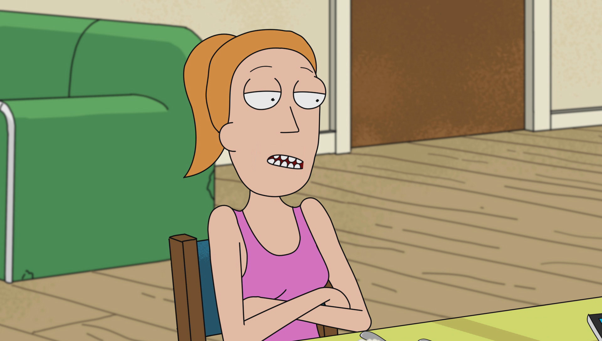 Image S1e1 Meet Summer Png Rick And Morty Wiki