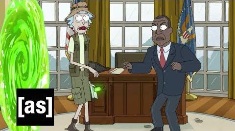 Inside 'The Rickchurian Mortydate' Rick and Morty Adult Swim