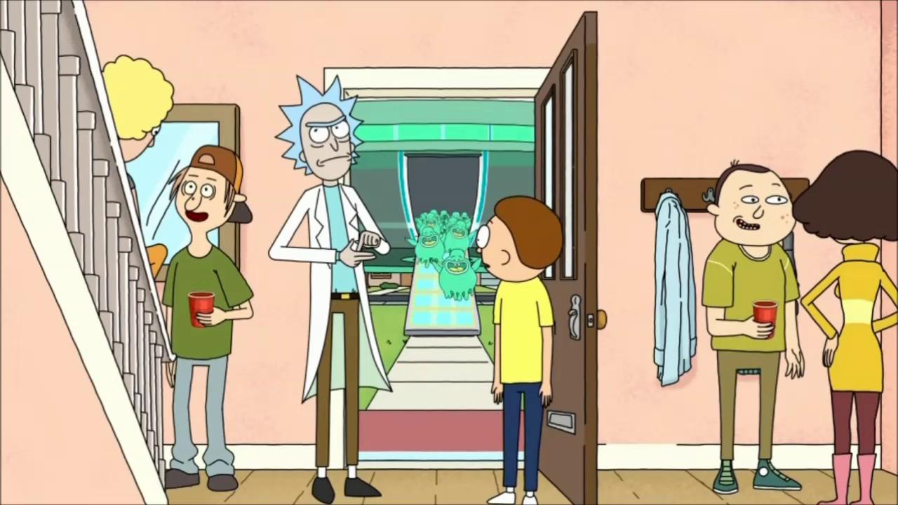 Mr. Meeseeks Teaches Summer New Tricks! (rick & Morty Parody)