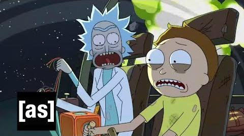 Sneak Peek Rest and Ricklaxation Rick and Morty Adult Swim